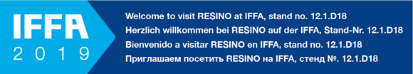 Welcome to Resino on IFFA 2019