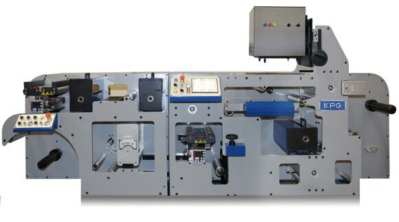 KPG digital printing press for sausage casings